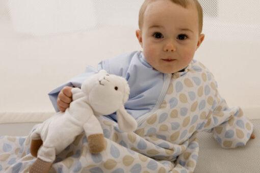 Pacco Produkte Pucksack und Babyschlafsack