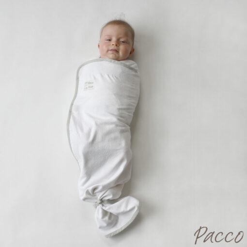 pucktuch sommer f r babys ab 4 7kg wei pucken mit pacco. Black Bedroom Furniture Sets. Home Design Ideas
