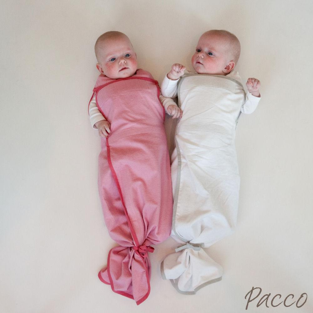 Baby ohne pucken schlafen lernen und langsam entwöhnen mit dem Pacco Plus Medium