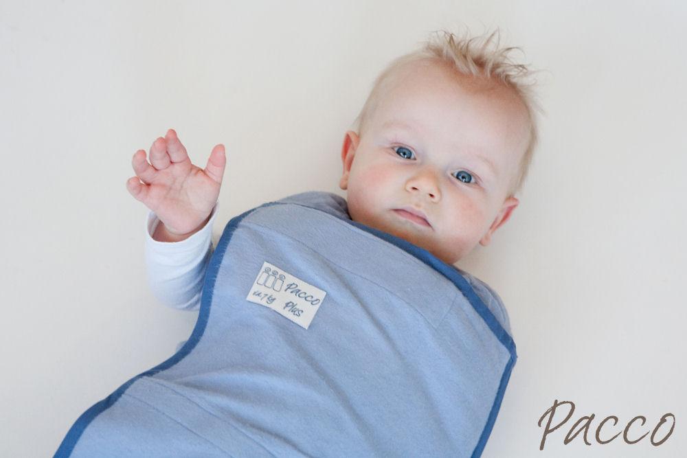 Pacco Plus XL Entwöhnungstuch fur Babys ab 8 Kg