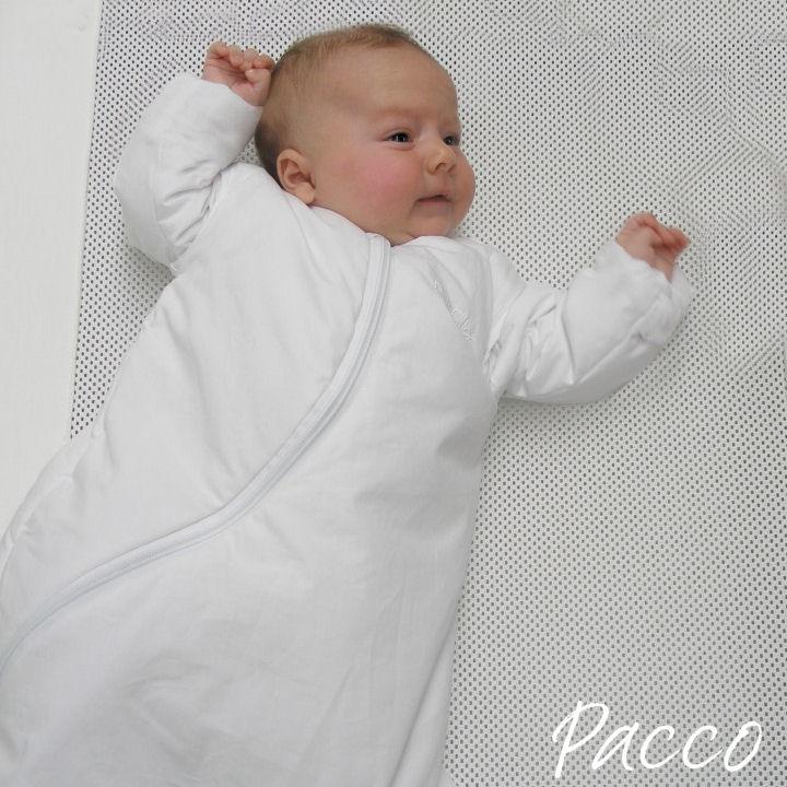PurFlo Babyschlafsack mit abzippbaren Ärmeln